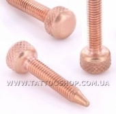 CS S01 COPPER Contact Screw (M4 Metric) for Tattoo Machines Shor